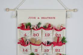 advent calander advent calendar fabric advent calendar christmas countdown