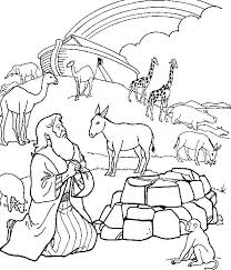 Click the link under coloring page and it will pull up a printable version. Noah S Ark Printable Coloring Pages