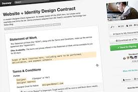 Agile software development agreement (28 pages) 2. 5 Essential Contract Templates For The Freelance Designer Designmodo