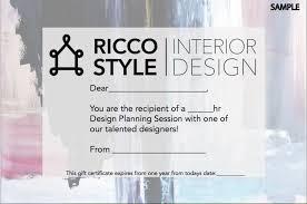 certificate of interior design. Perfect Certificate Interior Design Gift Certificate Template  Yakitori Free For Certificate Of Interior Design