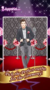 one groom wedding date salon dress up and makeover games hd free screenshot