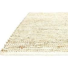 bleached jute rug ivory