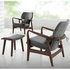 mid century modern sitting chairs. scandinavian living room with mid century modern grey fabric upholstered lounge chair wood frame finish sitting chairs s