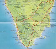southern railway map