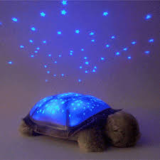 twilight turtle led night light star lamp usb cable