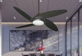 picture of tuscan 52 indoor contemporary ceiling fan with remote and 15 watt led light