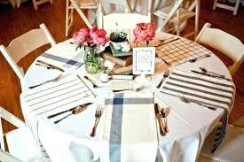 decoration table runners for round tables tea towel wedding place settings runner ideas long easter