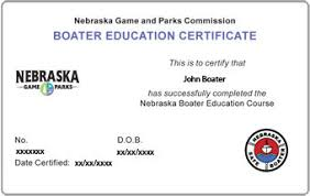 Nebraska Boating How License Get Replacement To A