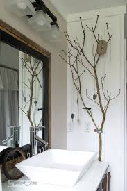 Bathroom-Beautiful Ways To Decorate With Branches