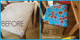 oilcloth chairs beforeafter jessconnell com