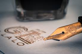 Free Ink Pens Brown Ink Pen A Free Stock Photo