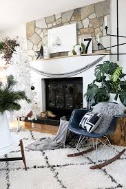 Modern Black and White Decor | 13 Modern Holiday Decorating Ideas ...