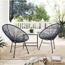 patio chair modern wicker indoor