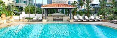 hotel outdoor pool. InterContinental Singapore Hotel Rooftop Swimming Pool Outdoor