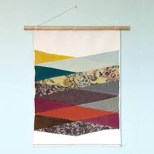 leagues fabric wall hanging textile
