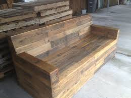 pallet stores furniture. wood pallet furniture stained sofa reclaimed from pallets stores e