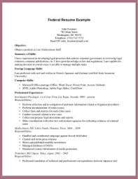 Resume Examples 2017 Use Federal Resume Samples to Meet Requirements Resume Samples 60 49