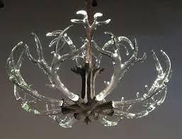 modern antler chandelier intended for preferred the crystal antler chandelier from lawson glass gallery 5