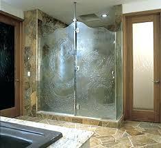 shower glass treatment treated glass shower doors bathroom designs glass shower enclosures decor ideas intended