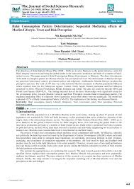 (PDF) Halal Consumption <b>Pattern</b> Determinants: Sequential ...