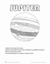 Small Picture Planet Coloring Pages Educationcom