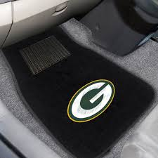 green car floor mats. Green Bays Packers Embroidered Floor Mat Set Green Car Floor Mats A
