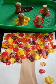 Autumn Cork Painting