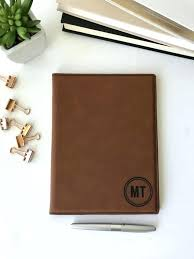 personalized leather portfolio image 0 customize