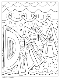 The Arts Coloring Pages and Printables - Classroom Doodles