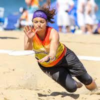 Meagan Brown - Ultimate Chicago Sandblast - Beach Ultimate