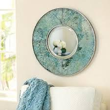 Small Picture Verdigris Glass Mirror Ballard Designs