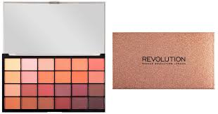 makeup revolution launched a 15 rose gold palette in stunning pink glitter packaging