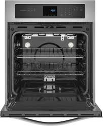Electric Wall Oven 24 Inch Whirlpool Wos51es4es 24 Inch Single Electric Wall Oven With 31 Cu