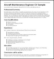 aircraft maintenance technician resume maintenance resume sample maintenance technician resume sample
