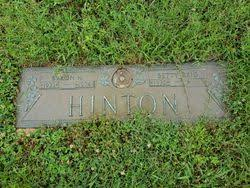 Byron Hunter Hinton (1922-1974) - Find A Grave Memorial