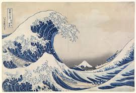 friday essay from the great wave to starry night how a blue  detail from katsushika hokusai the great wave off kanagawa kanagawa oki namiura 1830 34 from the thirty six views of mt fuji fugaku sanju rokkei