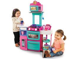 little tikes cook n kitchen playset pink