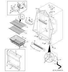 Ge Upright Freezer Manual Ge Freezer Parts Model Fuf14svgrww Sears Partsdirect