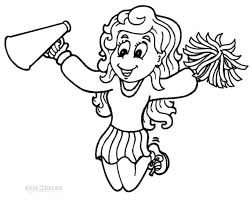 Small Picture Cheerleading Coloring Pages Cheer 7 Pagepngctok20111211225150