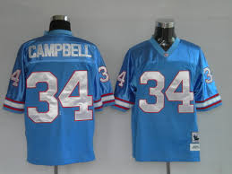 Campbell Earl Houston Jersey Oilers