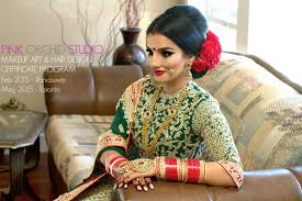 indian bollywood south asian bridal makeup start to finish by pink orchid studio you