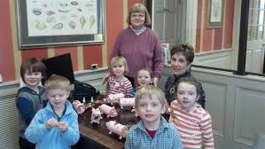 St. Luke's Preschool Visits The Talbot Bank