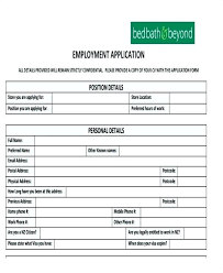 Simple Application Template Simple Job Application Form Template Printable Basic Sample