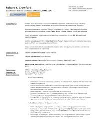 example resume for previous business owner scrum master resume