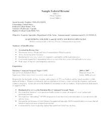 Federal Resume Template Create Federal Resume Template 100 Word Job Resume 100 Federal 34