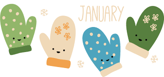 Wild Olive: calendar: mittens for january