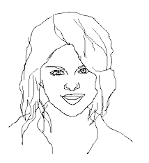 selena gomez coloring page how to draw step by step stars people free coloring pages selena gomez coloring page