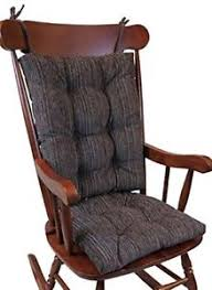 image is loading gripper non slip polar jumbo rocking chair cushions