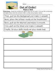 Sequencing Worksheets | Page 2 of 2 | Have Fun Teaching