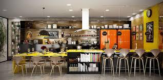 Orange And Yellow Kitchen Design 20 Yellow Accent Kitchens That Really Shine Kitchen